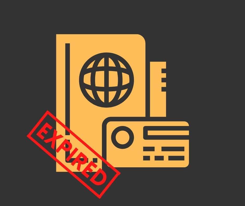 Residency permit expired