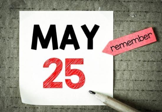 termenul declarației unice - 25 mai