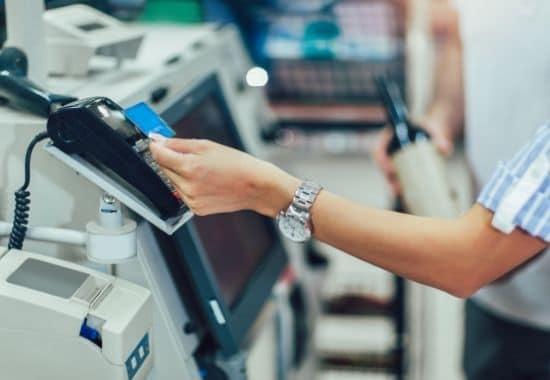self checkout store in Romania