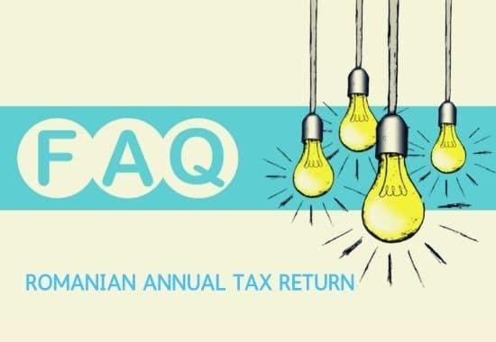 romanian annual tax return - faq